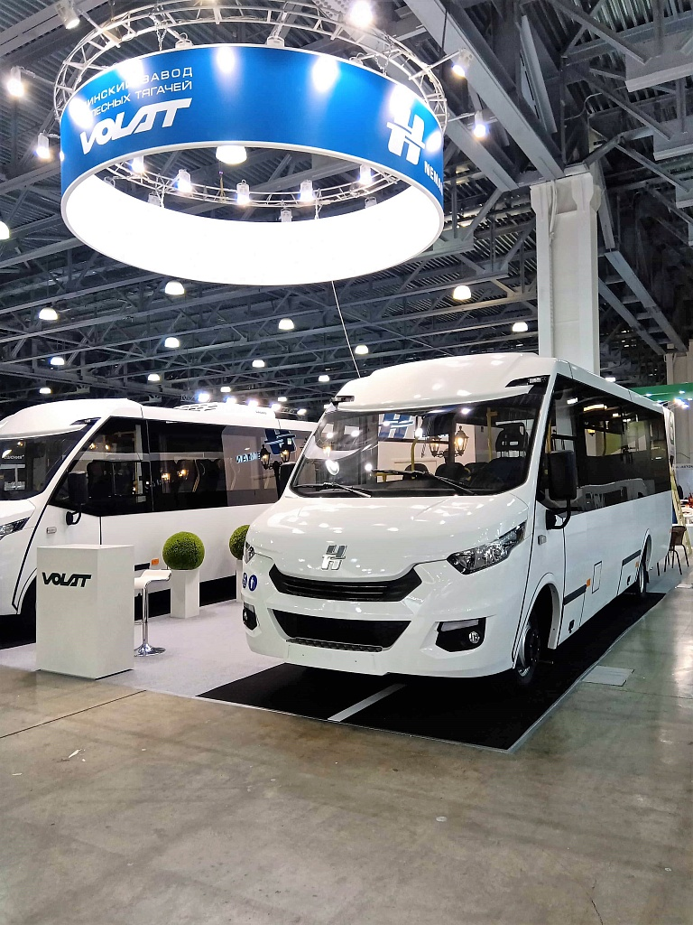"VOLAT на выставке ""Busworld Russia"""